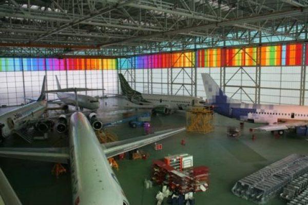uçak hangarı1